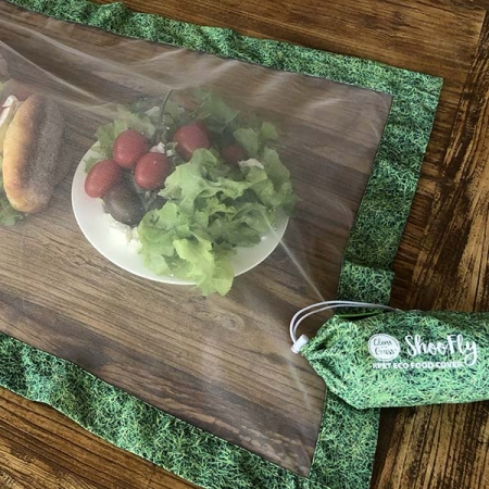ShooFly Eco Food Cover Grass Print